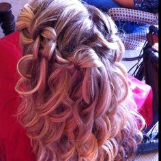 My Bridesmaid Hair!