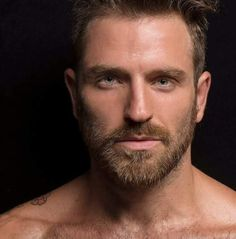 Awesome hair, moustache and beard. Hairy Hunks, Hairy Men, Bearded Men, Moustaches, Blue Eyed Men, Blonde Guys, Blond Men, Great Beards, Handsome Faces