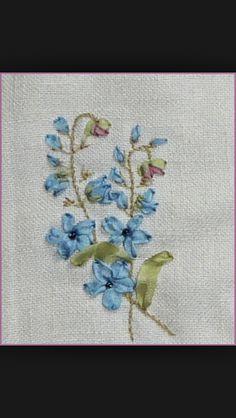 Silk embroıdery