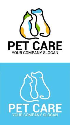 PET CARE Logo #logotemplate #logodesign #branding #visualidentity #concept #logos #customdesign #designers