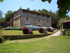 #alojamiento #rural #galicia #pazo #jardin #bodas #eventos #camino #santiago #via #plata #ruta #mozarabe