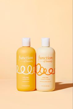 Function's Coily Hair Shampoo is formulated with flaxseed oil to promote healthy scalp and nourish type 4a, 4b, and 4c hair and Coily Hair Conditioner is formulated with Jamaican black castor oil to maintain moisture and revive type 4a, 4b, and 4c coily hair. Customize according to your unique #hairgoals by adding up to 3 Function of Beauty #HairGoal Booster Shots into your Coily Hair Shampoo and Conditioner base. Perfume Packaging, Bottle Packaging, Beauty Packaging, Coily Hair, 4c Hair, Healthy Scalp, Hair Shampoo, Packaging Design Inspiration, Castor Oil