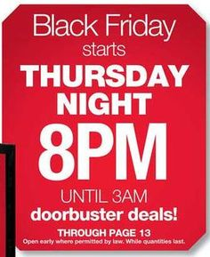 Kmart Black Friday Advertisement 2012