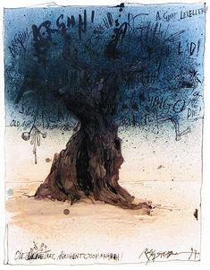 Ralph Steadman (1936) Ink Illustrations, Illustration Sketches, Hunter Thompson, Visual Map, Ralph Steadman, Indie Art, Hunter S, Great Artists, George Orwell