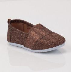 Kids Slip on Glitter Shoes