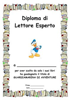 Diploma_lettura_2 Social Service Jobs, Social Services, Reading Workshop, Summer Kids, Primary School, Book Art, Classroom, Science, Teaching