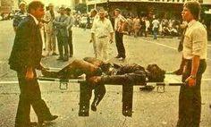 """Nelson Mandela het die terroristebende """"Mkhonto we sizwe"""" (MK) gestig. MK het veel meer swartes as blankes vermoor, en veel meer burgerlikes as polisie of militêr, soos in Kerkstraat - sien hierbo. Manchester Attack, South African News, World Icon, Army Day, Funeral Planning, Men Are Men, Hero World, Defence Force, New Africa"""