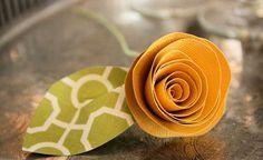 Ideas para hacer flores artesanales con papel