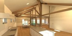 interieur nieuwbouw boerderij