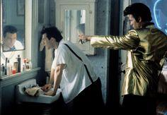 TRUE ROMANCE, Christian Slater, Val Kilmer, 1993