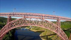 Viaduc Garabit, réalisé par Gustave Eiffel... drone racer Vortex 285