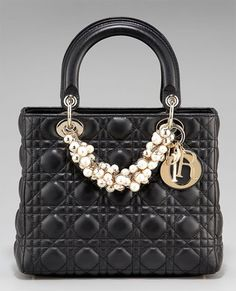 Dior and pearls