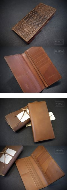leather wallet - NUNO's workroom.