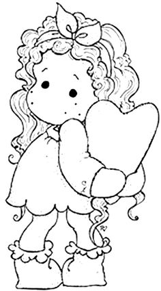 With Love 2013 - Tilda Hiding Heart