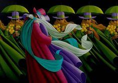 Claude Theberge - reconocido artista canadiense, nació en 1934 en Edmonton, Alberta, Canadá. Tienes la Escuela Quebec en Artes en 1954 y continuó la educación en París (hasta 1960). Después de regresar a Canadá Claude Teberzh trabajó en un estilo abstracto, y su trabajo está estrechamente relacionado con la arquitectura. Desde 1980, el trabajo comenzó a dominar la pintura Teberzha. Su trabajo, que combina las metáforas, simbolismo e hiperrealismo mostrados en numerosas exposiciones en París…