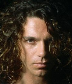 Because he was my first-ever pinup love: Michael Hutchence. INXS was never relevant without him.