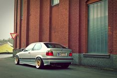323ti on ACS RS - StanceWorks Bmw E36 Compact, Bmw Love, Cars, Vehicles, Cool Cars, Rolling Stock, Autos, Vehicle, Car
