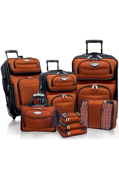 8 piece luggage set for $99