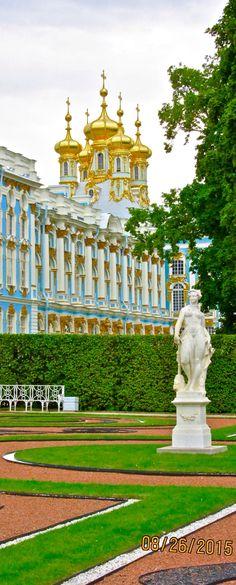 The Catherine Palace (UNESCO World Heritage Site), Tsarskoye Selo (Pushkin), Russia