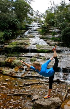 Yoga Poses in Nature