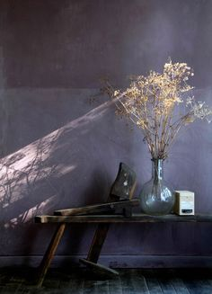 12 Purple Rooms To Inspire Your Decorating 12 Purple Rooms To Inspire Your Decorating Pantone S Punchy Color Of The Year Is Surprisingly Sophisticated 12 Purple Rooms To Inspire Your Decorating Apartment Therapy Wabi Sabi, Interior Design, Lime Paint, Purple Bedrooms, Bedroom Black, Bedroom Modern, Modern Room, Purple Interior, Wall Colors