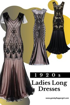 Looking for the perfect long dress or gown for your next party or event? You will love all our stunning 1920s dresses & Great Gatsby Party Outfits - Click Here to see them all Great Gatsby Dresses, Great Gatsby Party, Flapper Style, 1920s Dress, Prom Dresses, Formal Dresses, Party Outfits, Evening Gowns, Lady