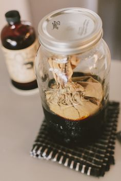 CoffeeSock Cold Brew Filter for making Coffee Shop Quality Cold Brew at Home in a 64 Oz. Mason Jar