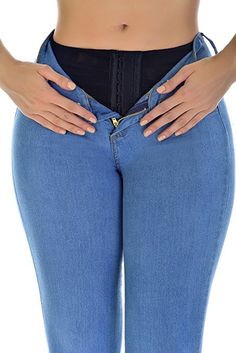 a583f7d5246 Curvify Butt Lifting Wonder Jean with Secret Internal Wai