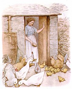 Beatrix Potter | ILLUSTRATION | The Tale of Jemima Puddle-Duck | At Home