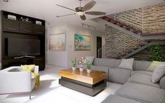 E2 Living Room: Salas de estilo minimalista por arQing