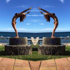 Maui yoga instructor Chelle Claire!   Find her at the Maui Yoga & Dance Shala in Paia & Wailea! http://www.maui-yoga.com