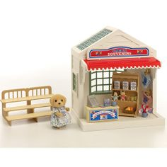 Calico Critters Village Cake Shop Set