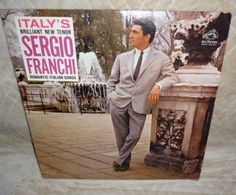 LP Record: SERGIO FRANCHI Romantic Italian Songs RCA VICTOR Red Seal 1962 #LatinPop