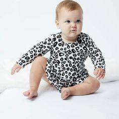 Lil Missie Spot Dress in Cream & Black