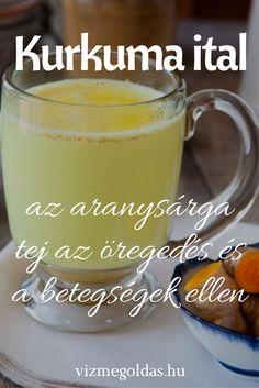 Egészséges receptek - Kezdőlap » Életmód tanácsok » Egészséges receptek » Kurkuma ital – az aranysárga tej az öregedés és a betegségek ellen Kurkuma ital – az aranysárga tej az öregedés és a betegségek ellen Health Tips, Health And Wellness, Health Fitness, Herbal Remedies, Natural Remedies, Healing Herbs, Smoothie Bowl, Healthy Drinks, Herbalism