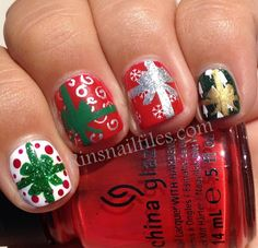 Rin's Nail Files: Rin's 12 Days of Christmas....Day 6