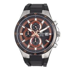 Casio Men's EFR519-1A5V Edifice Active Line Chronograph Analog Watch >>> Check out the image by visiting the link. (This is an Amazon Affiliate link and I receive a commission for the sales)