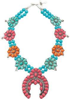 Gypsy SOULE Squash Blossom Necklace