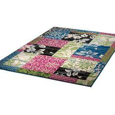 Teppich Patchwork 280x190 Multi, 68€, jetzt auf Fab.