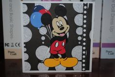 Mickey Mouse Birthday Card #2 :-)