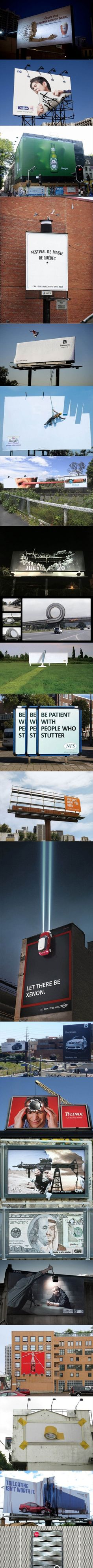 Awesome billboards