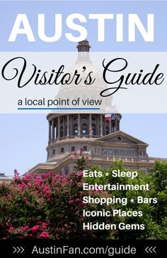 Austin Visitor's Guide created for Austinites and Austin visitors alike. You never have to wonder where to go for good eats, local flair, shopping haunts..
