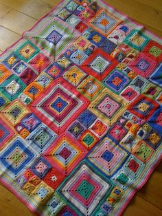 one day I'm going to make myself one of these Babette blankets