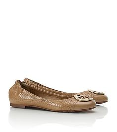 Snake Print Serena Ballet Flats. Nude color goes with all.
