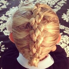 One of my favorites, French Knotted Braid! #twinshair #CGHFrenchKnottedBraid http://youtu.be/pYGrnOiqSDI