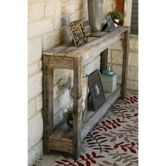 Farmhouse Sofa Table, Rustic Sofa Tables, Diy Sofa Table, Rustic Hallway Table, Diy Entryway Table, Pallet Entry Table, 2x4 Table, Pallet Sofa Tables, Home Decor Ideas