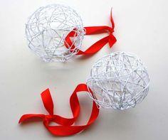 Estrellas de Web: DIY: Bolas Navidad II