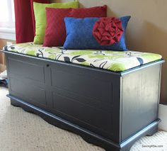 Beautiful refinished hope chest