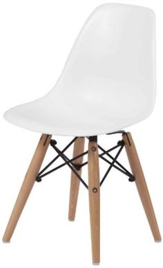 Pangea Home Children Daffy Side Chair, White