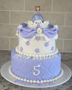 Fondant Princess Sofia Cakes